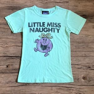 Little Miss Naughty Novelty Tee